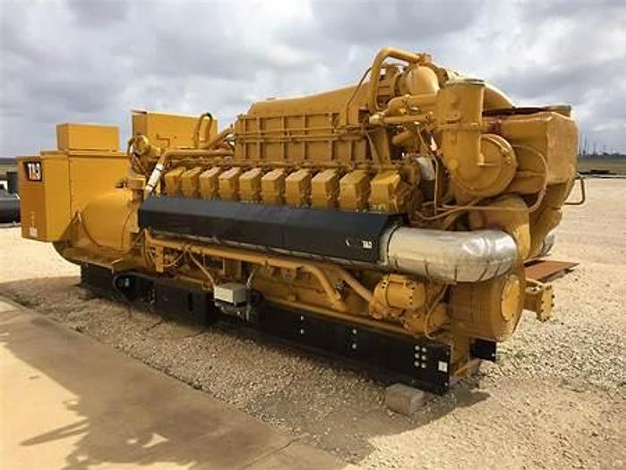 2.055 MW New Caterpillar G3520 Natural Gas Generator