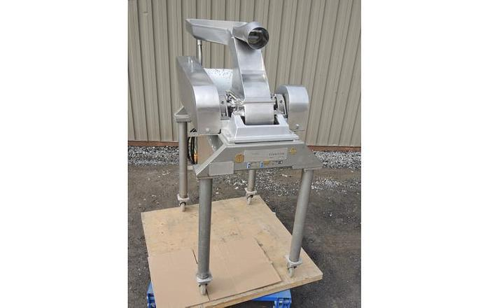 USED FITZ MILL, MODEL DAO6, SWINGING KNIVES, STAINLESS STEEL, SANITARY