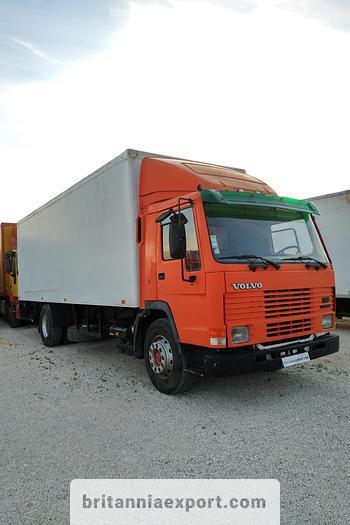Used 1992 VOLVO FL7 260 19 ton box lorry