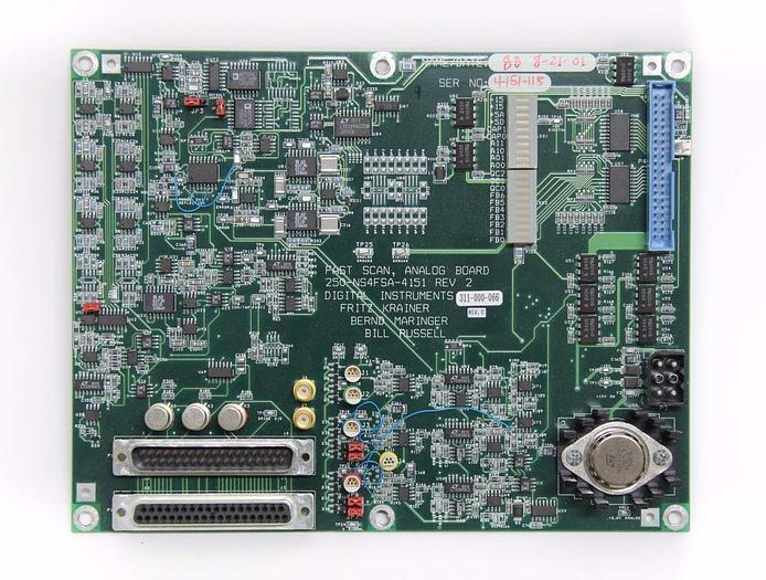 Used Digital Instruments Veeco Fast Scan, Analog Board 250-NS4FSA-4151 Rev. 2 (4281)