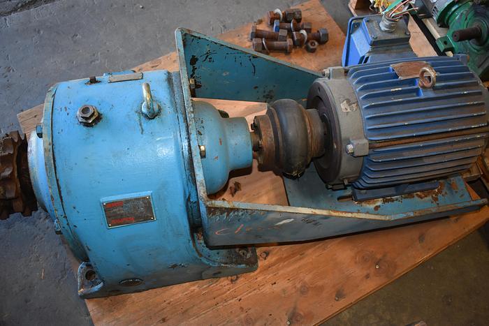 Used SKK 56 RPM gear box, SKK 10hp 56RPM AFC type In-Line reducer, gear reducer, skk gear box, hampton SKK afc type speed reducer