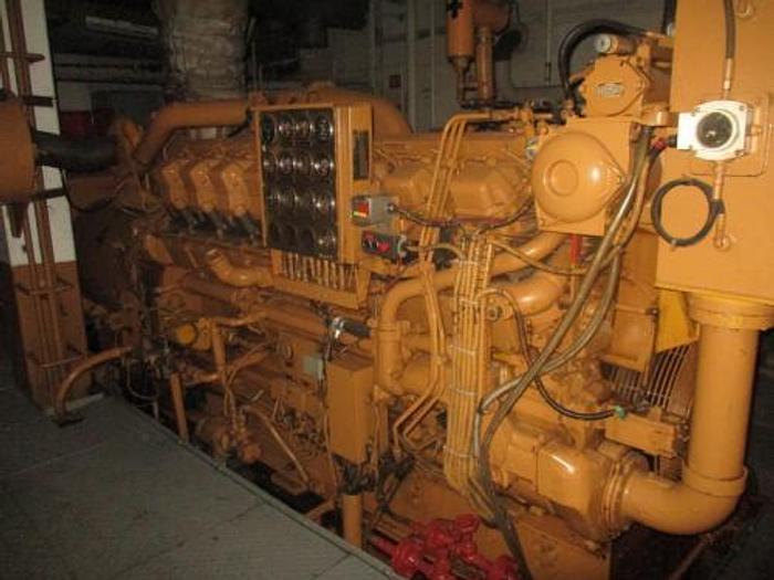 1.60 MW 2005 Used Caterpillar 3516 DI Diesel Generator