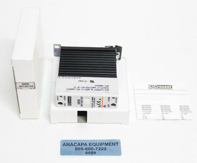 Crouzet GRD 84130103 Solid State Relay 4-32VDC 24-280VAC NEW LOT of 5 (6559)