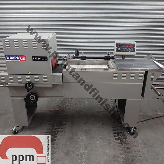 Used Wraps UK LST50 Semi Automatic L Sealer & Heat Tunnel