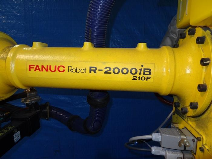 2014 FANUC R2000iB/210F 6 AXIS CNC ROBOT WITH R30iA CONTROLLER