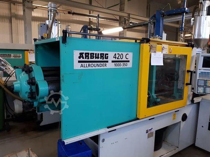 Gebraucht 2000 Arburg 420C 1000-350 Selogica