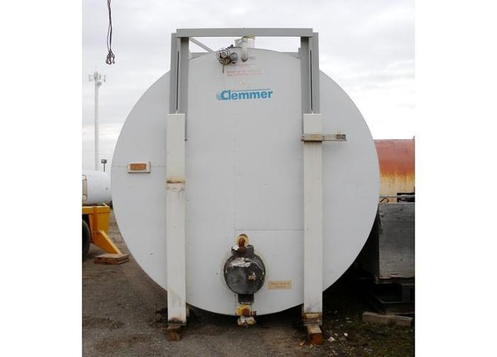 USED 13 200 GALLON TANK, STAINLESS STEEL, ULC VAC-U-TEST DOUBLE WALL, HORIZONTAL