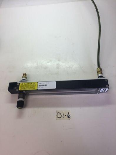 Used AALBORG INSTRUMENTS ADJUSTABLE FLOW METER GAUGE 044-14G Max Pressure 200 PSIG