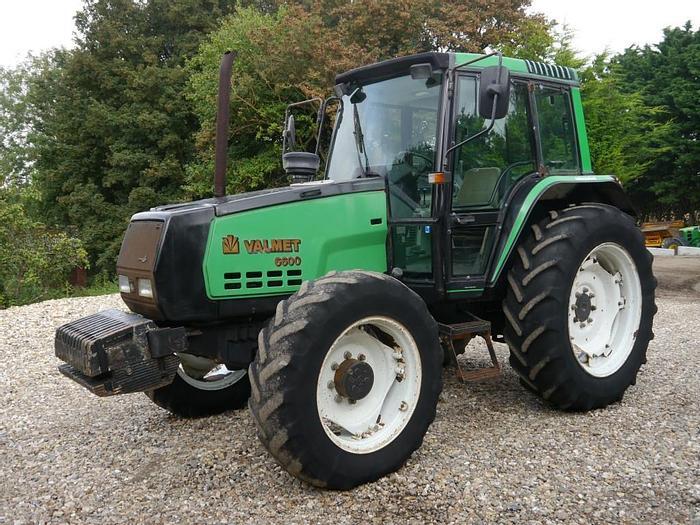 Used Valmet 6600 4wd Tractor