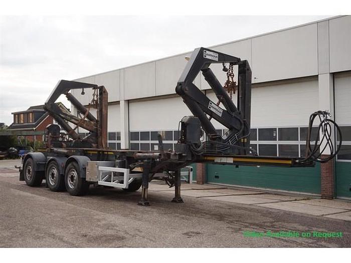 Used Hammar Side Loader 160HC / 20ft / 2x 20ft / 30ft / 40ft / 45ft / sliding chassis / Multi / Disc brakes / Air suspension