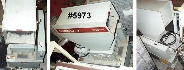 Used 8 in. X 12 in. CUMBERLAND GRANULATOR – 7.5 HP – #5973