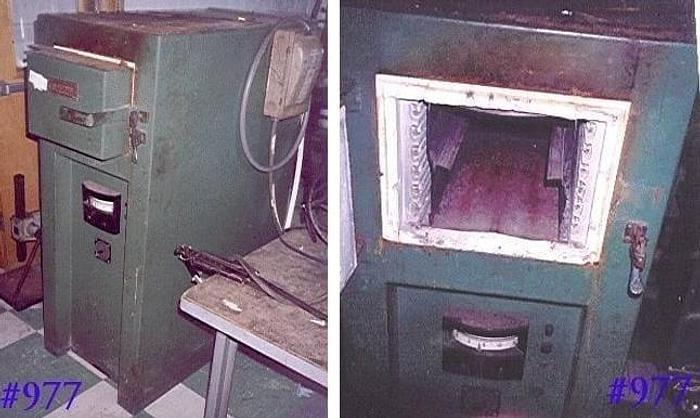Used LUCIFER ELECTRIC BOX FURNACE 9″ x 9″ x 18″ – 1250 DEG. F – #977