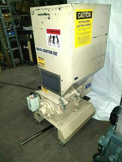 Used Nissui SA-133 Screenless Plastic Granulator Grinder Year 2000