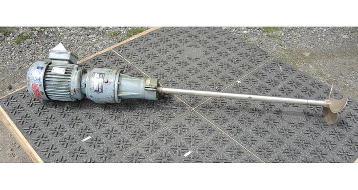USED MAVER CLAMP-ON MIXER, 0.5 HP