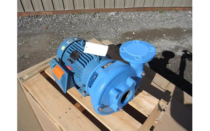 "USED GOULDS CENTRIFUGAL PUMP, 3"" X 2.5"" INLET & OUTLET, CAST IRON"