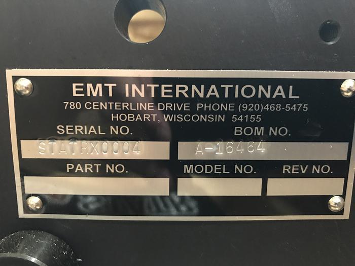 EMT International Chameleon Stat-Rx, Static Control, Model S2500, StatRx A-16464 (Like NEW)