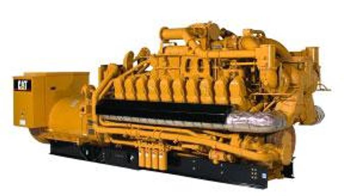 1.97 MW 2012 New Caterpillar 3520C Natural Gas Generator