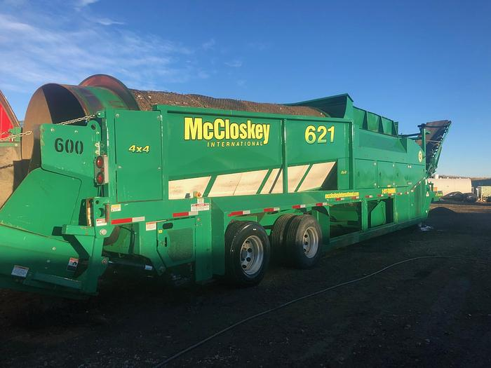 Used 2012 MCCLOSKEY 621RE