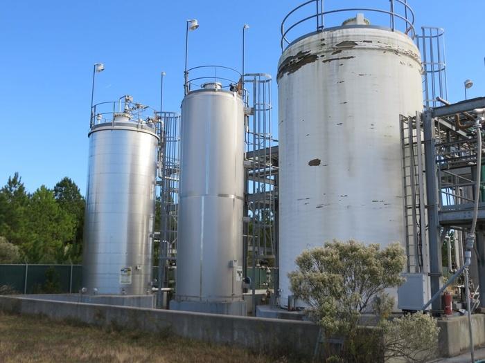 Mueller 8,000 gallon Sulfuric Acid Tank