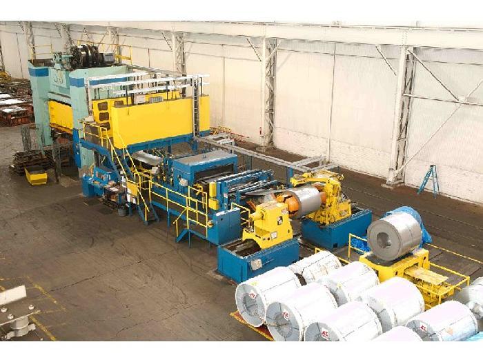 """500 ton Verson 186""""x108"""" Blanking Press"""