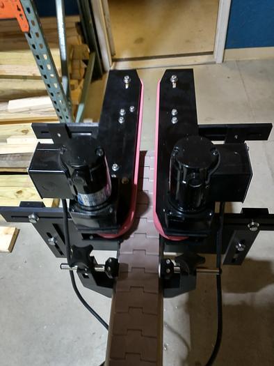Used Mounted Bottomless Conveyor