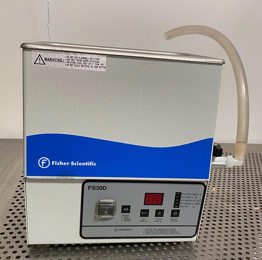 Used Fisher Scientific FS30D Ultrasonic Cleaner CPN-962-252R