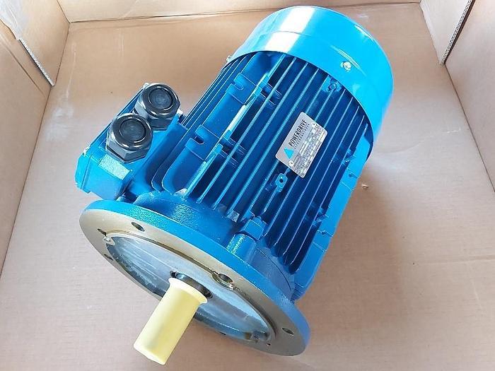 Energiespar Elektromotor mit Flansch, JFAA 132M-4-IE3, 7,5 KW, 1460 rpm, Pfeiffer,  neu