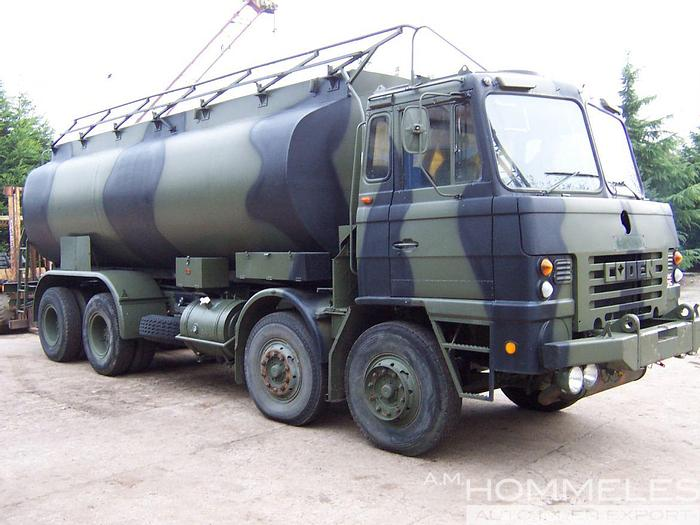 Used Foden 8x4 tanker