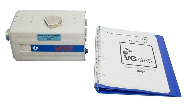 Used VG (Thermo) Residual Gas Analysis System VGQ FOR PARTS (7398)R