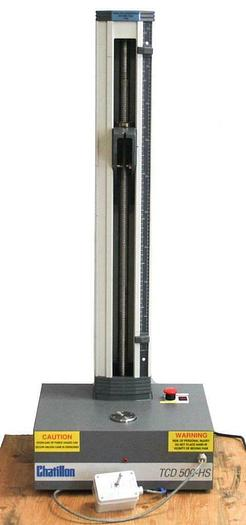 Used Chatillon TCD-500HS Motorized Digital Test Stand High Speed Force Tester (7190)R