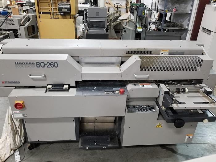 Used Horizon BQ 260 Perfect Binder