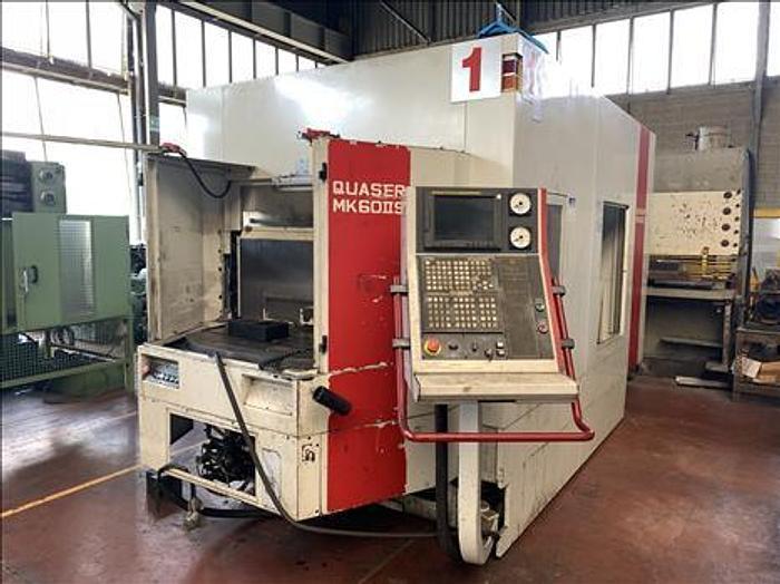 Centro di Lavoro con cambio pallet QUASER MK 60 II S