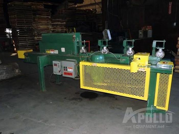 Used PRS Group Stringer Sizer Pallet Machine