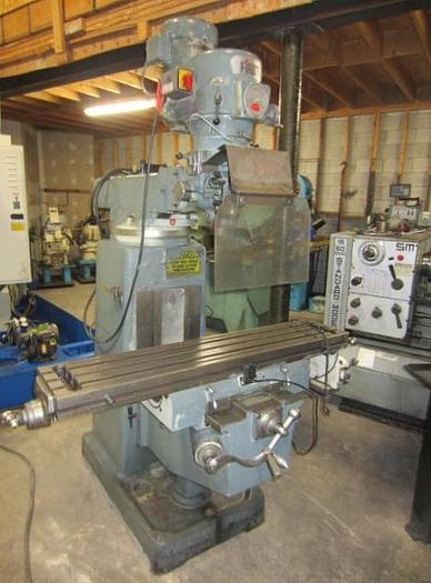 "Used 10"" X 50"", FIRST, VERTICAL MILLING MACHINE"
