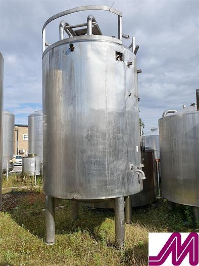 Used 7,500 Litre Stainless Steel Insulated Tank