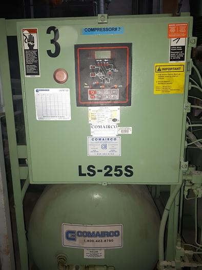 Used SULLAIR  LS-25S-300 L A/C Compressor - Like new!