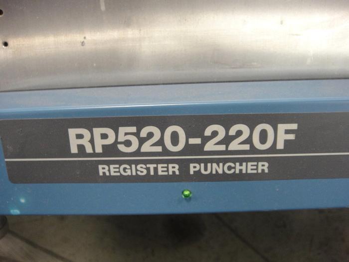 Used Ryobi RP520-220F Optical Punch