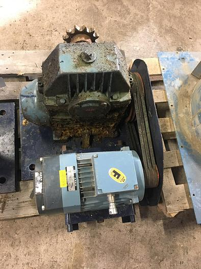 Used ASEA electric motor 2,2 kW 1430 r/m