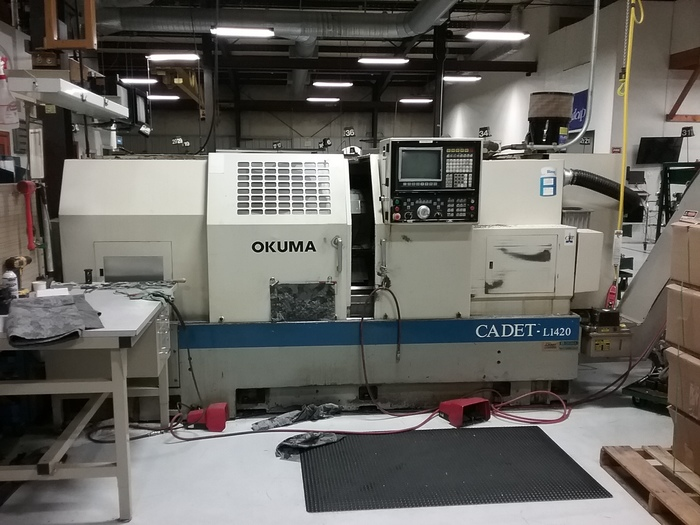 1992 Okuma Cadet L1420/1250 Long Bed