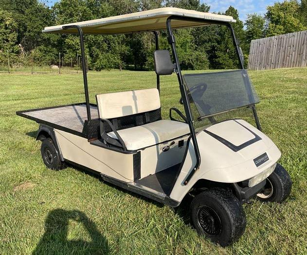 Used 2008 Cushman Flatbed Cart