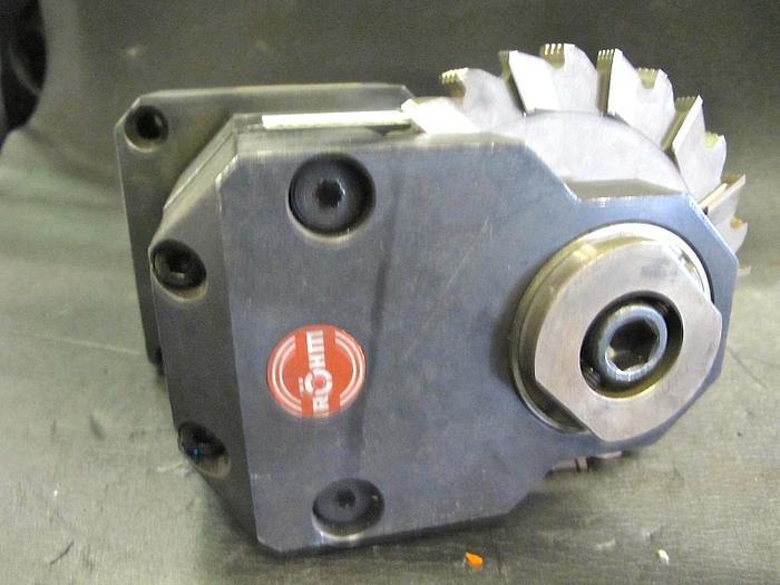 Angetriebenes Werkzeug VDI 50 Werkzeugaufnahme Roehm