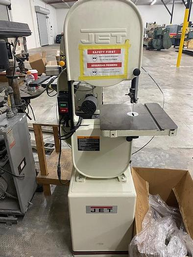 Used Jet Model JWBS-14CS Woodworking Vertical Bandsaw #5897