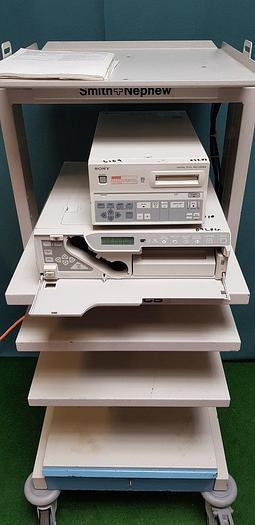 Gebraucht Smith&Nephew Dyonics Workstation mit Sony Recorder DKR-700P Sony Videodrucker UP-2800P