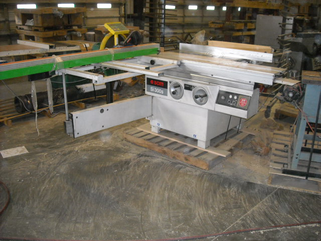Used SCMI Model S 300S Sliding Panel Saw