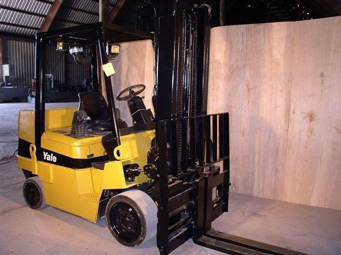Used 8,000 lb. Yale Model GDC080LJ Forklift; S/N C818V01848Z; Mfg. 2003
