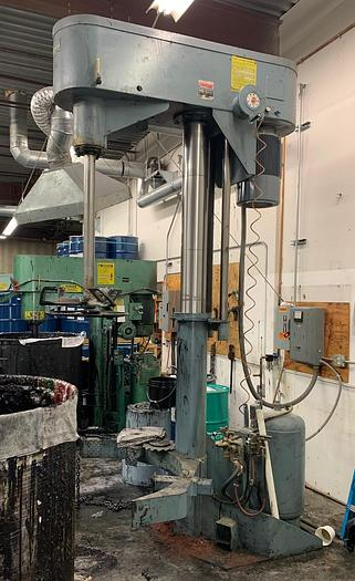 Used 30 HP SCHOLD CO-AXIAL HIGH SPEED DISPERSER – V/S (#9677)