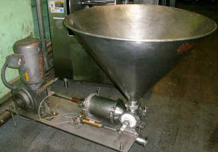 Used GEYER STYLE 1G ONE GALLON FOOD PUMP FILLER (STOCK #588C)