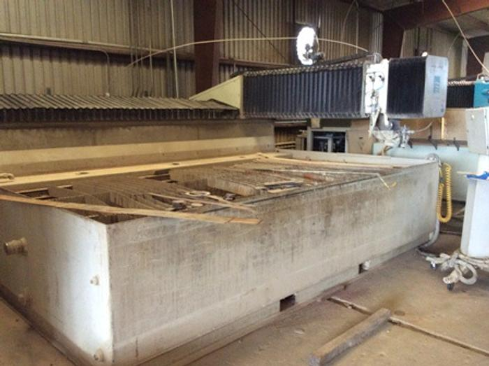2008 6'x 12' Flow Waterjet IFB 55K psi Hyplex pump with dynamic head