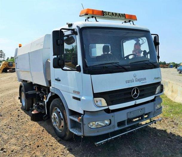 Used 2007 MERCEDES-BENZ ATEGO 1318