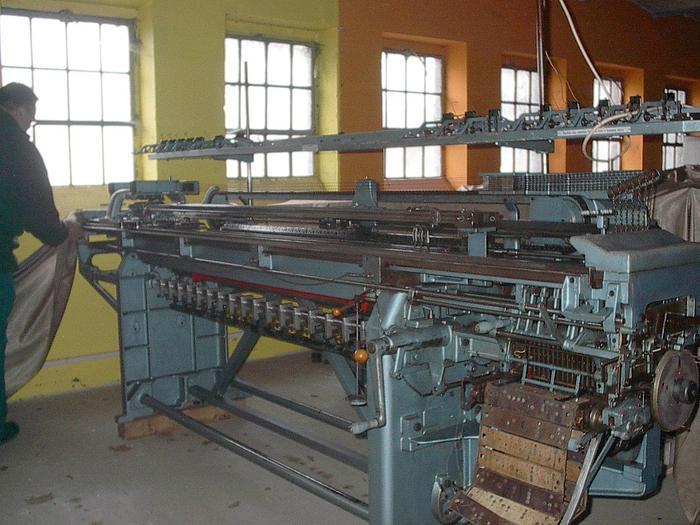 Gebraucht Links-Links-Flachstrickmaschine STOLL  LIFADO E12/170